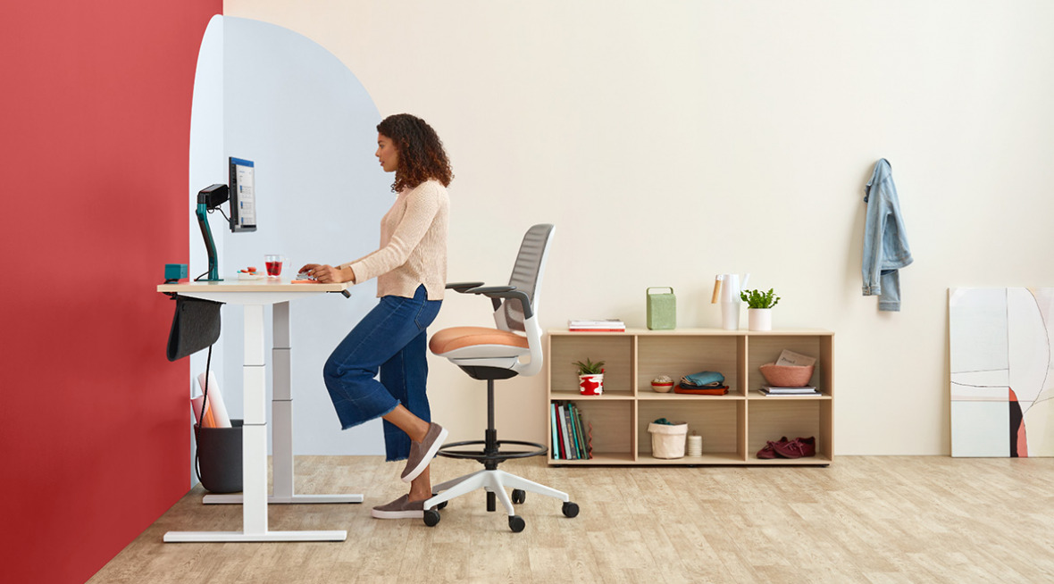 Bivi Height Adjustable Desk