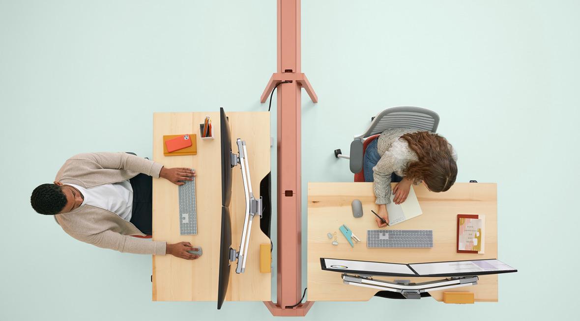 Bivi Height Adjustable Desk