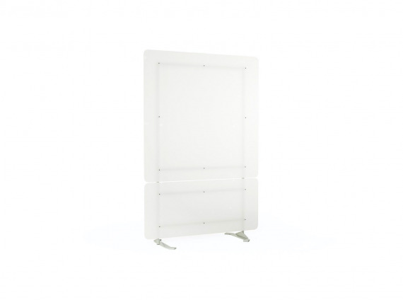 Steelcase Health Separation Screen on white background