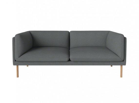gray paste sofa