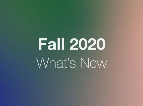What's New Fall 2020