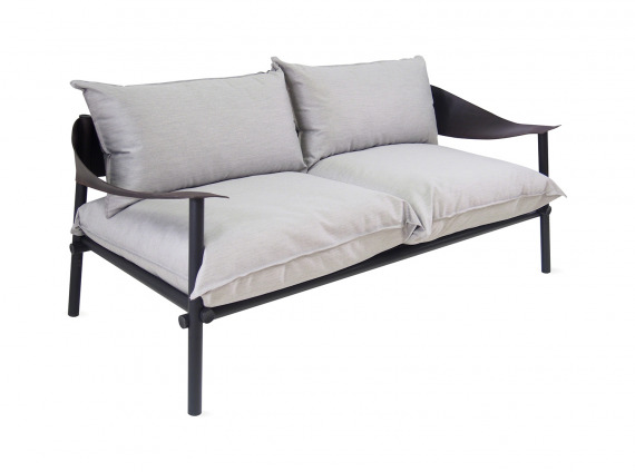 Gray EMU Terramare Lounge Seating on white background