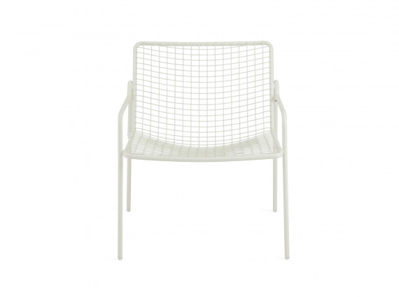 White Coalesse EMU Rio Lounge Chair on white background