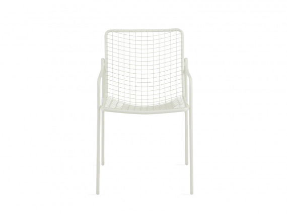 White Coalesse EMU Rio Armchair on white background