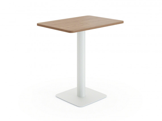 Turnstone Rectangular Simple Table ​by Steelcase on white background