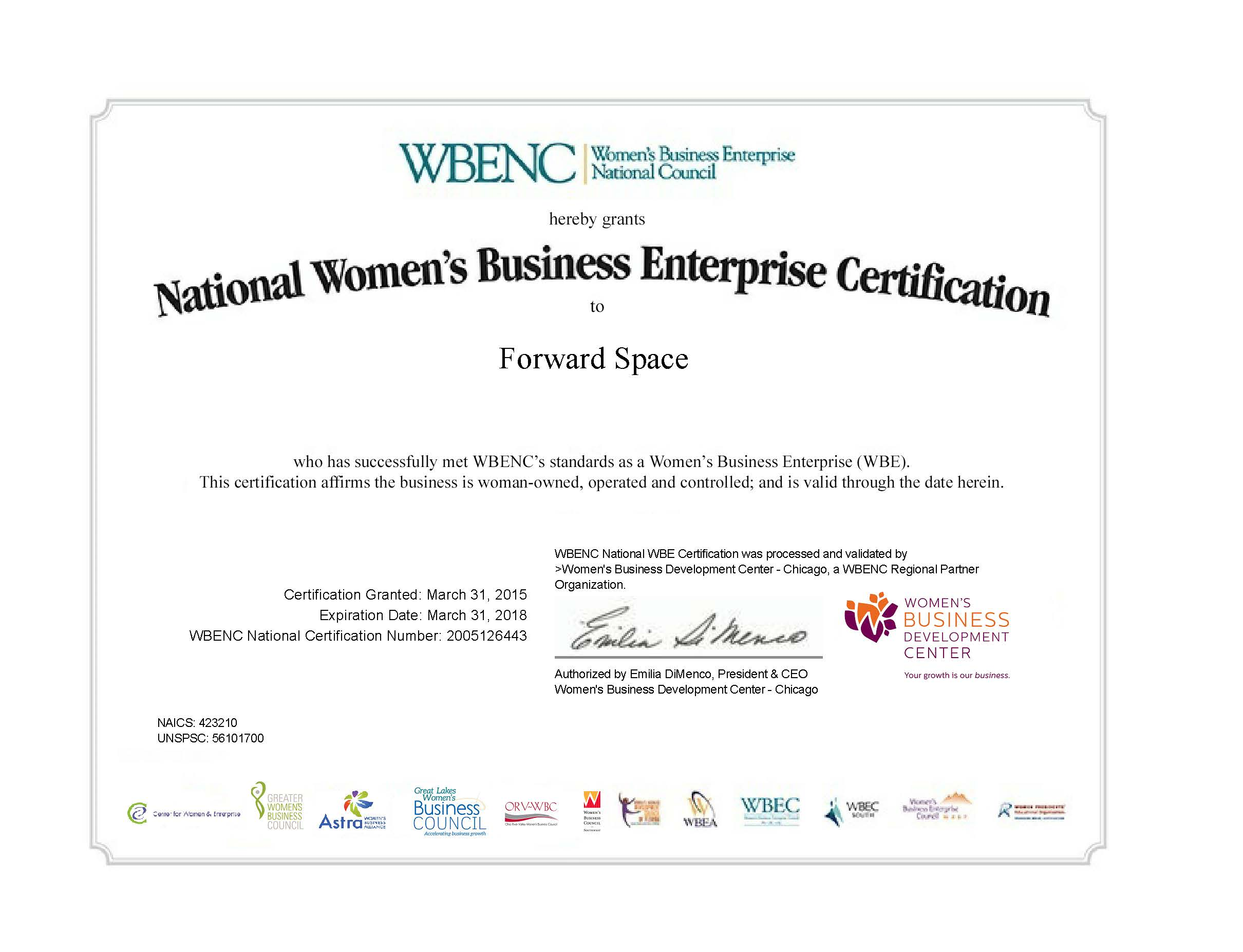Forward-Space-WBE-Certificate-with-WBENC-exp03-31-2018