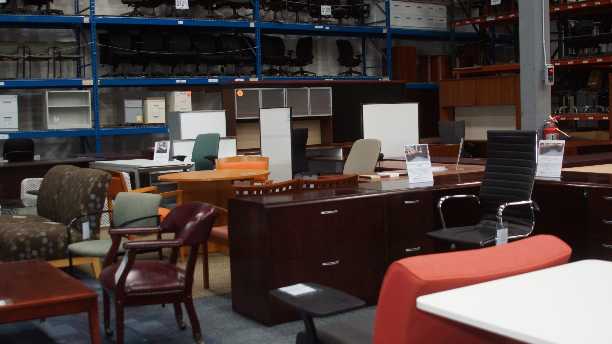 Storr PreOwned Office Furniture Outlet Interior