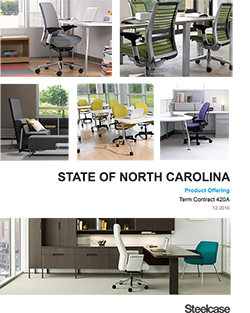 State of North Carolina Product Offering Booklet