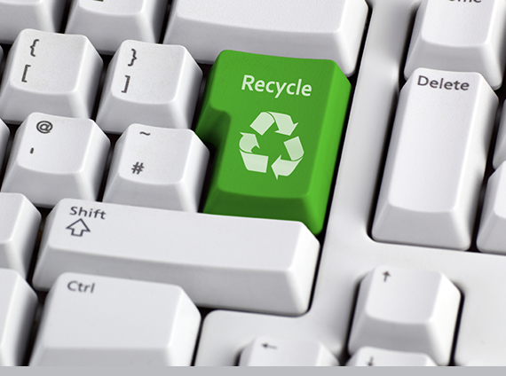 services manage technology asset recycling