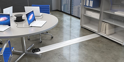 4 flat wire technology options to boost access to power connectrac on floor solution image courtesy connectrac greentooth Image collections