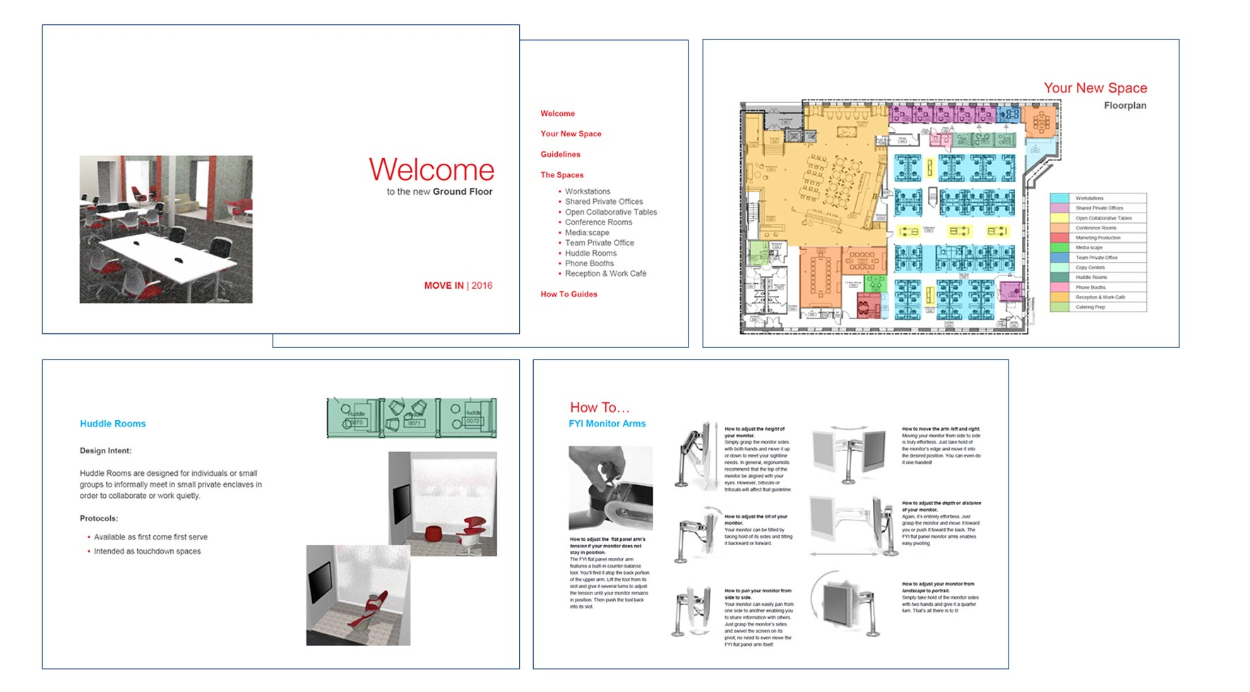 Office move experience - Shawmut move-in booklet
