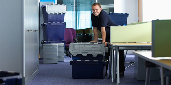before hiring an office mover