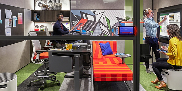 Steelcase and Microsoft Creative Collaborative Space