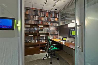 private space movable walls focus enclave