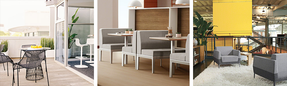 ancillary furniture used in social spaces