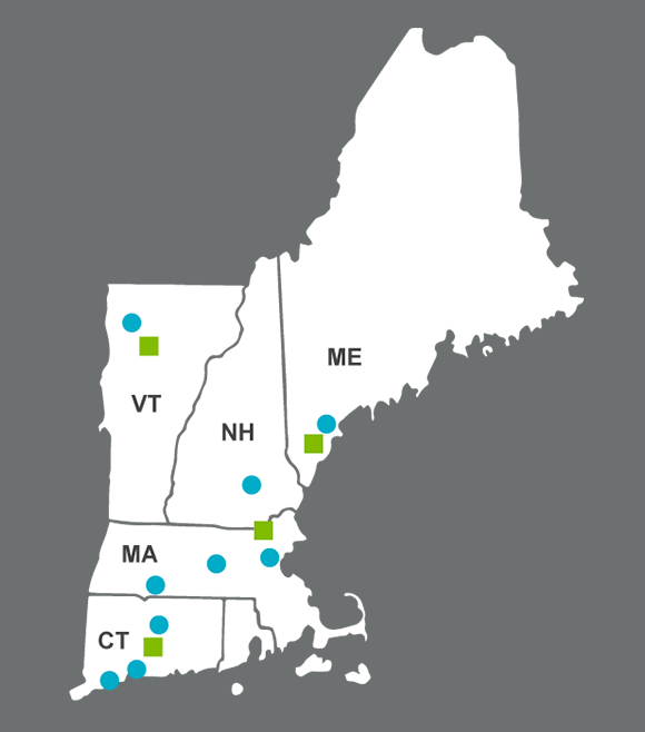 Red Thread has locations throughout New England