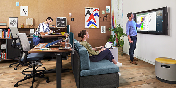 incorporating technology helps foster workplace creativity