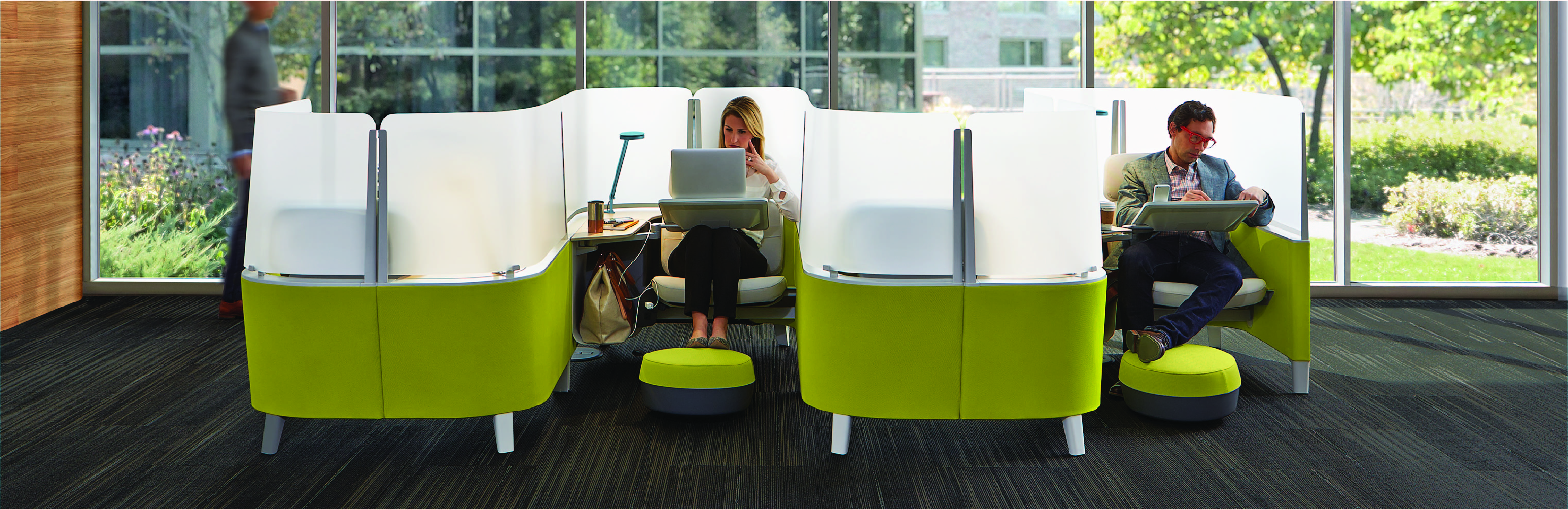 The Brody WorkLounge promotes mindfulness at work