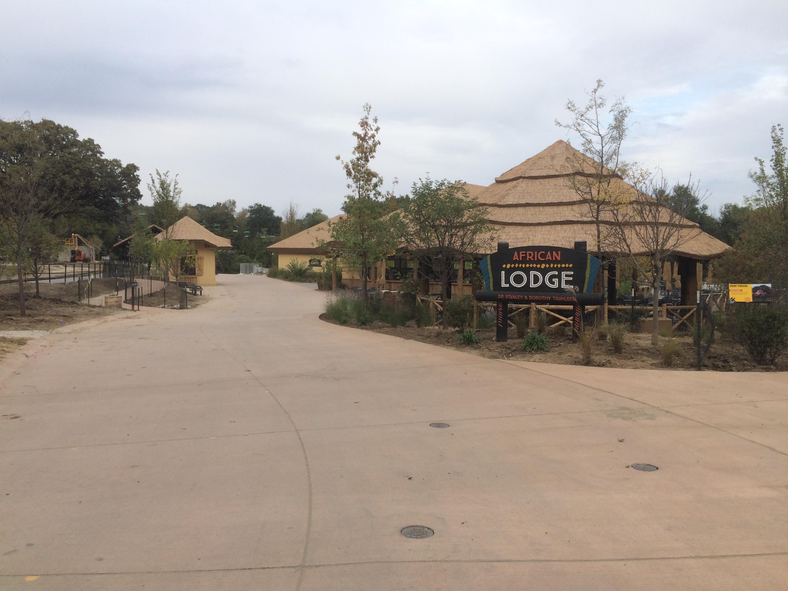 Tusker Grill and Lodge - African Grasslands Henry Doorly Zoo Omaha Nebraska