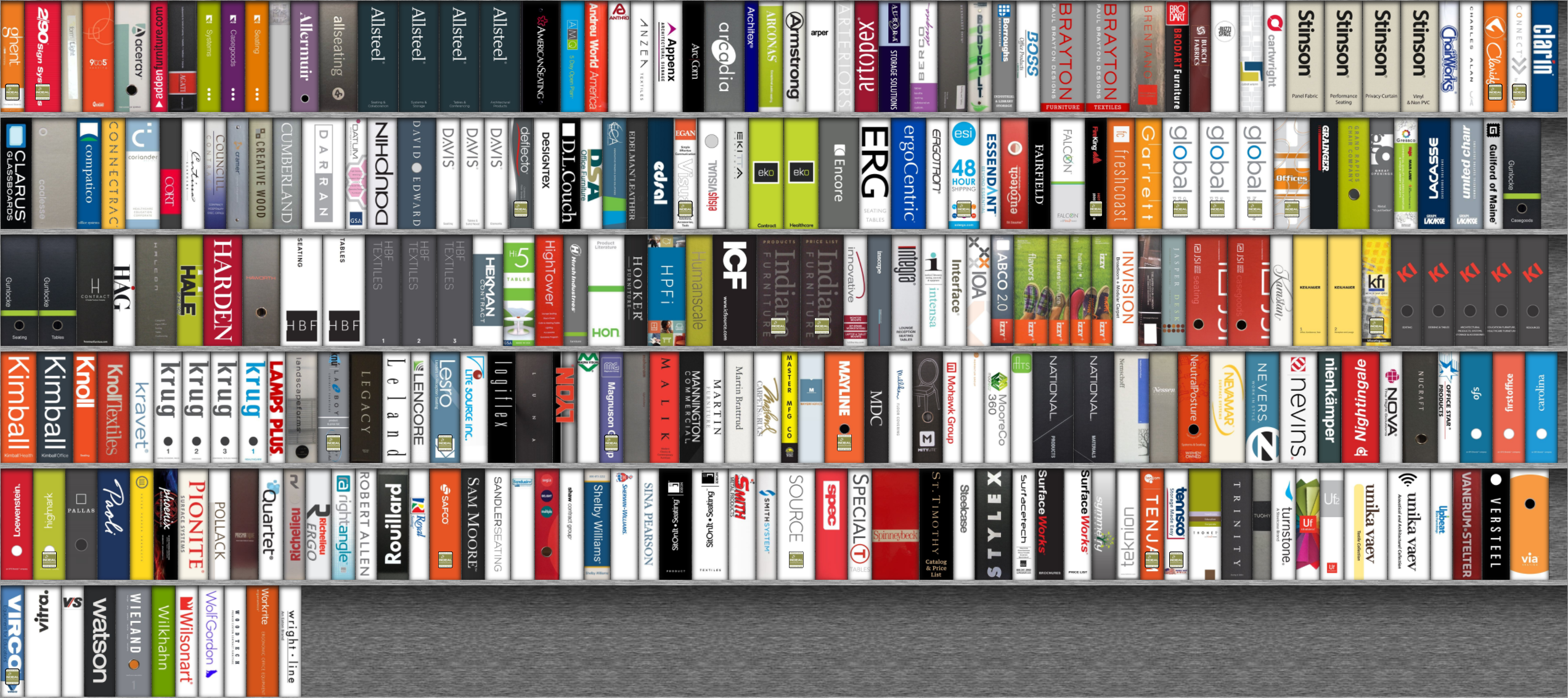 MyResourceLibrary - Screenshot of all the binders available - now on sbi-omaha.com