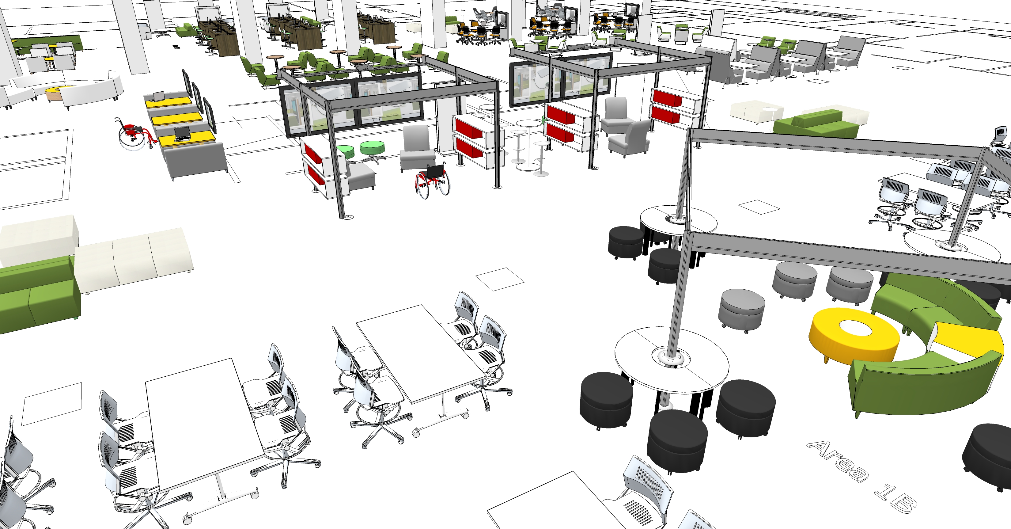 Space Planning & Interior Design - Business Environments