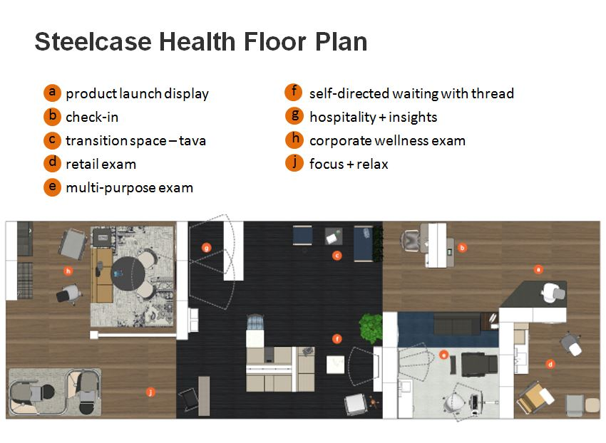 Steelcase Health Booth Floorplan 2