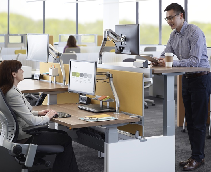 Series Bench by Steelcase