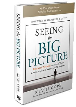 Seeing the Big Picture, Kevin Cope